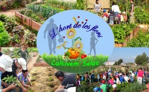"""huerto-jardín participativo """"L´Hort de les Flors"""""""