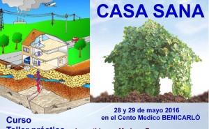 CURSO TALLER  CASA SANA –  GEOBIOLOGÍA Y BIOHABITABILIDAD 28 y 29 de mayo