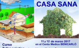 CURSO TALLER CASA SANA – GEOBIOLOGÍA Y BIOHABITABILIDAD 11 y 12 marzo