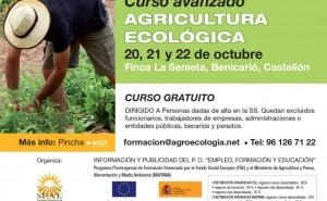 Curso GRATUITO avanzado de Agricultura Ecológica en Benicarló
