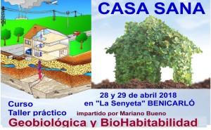 CURSO CASA SANA EN BENICARLÓ 28-29 ABRIL